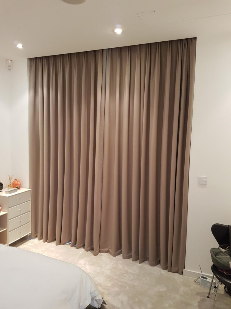 blackout curtains - fixed